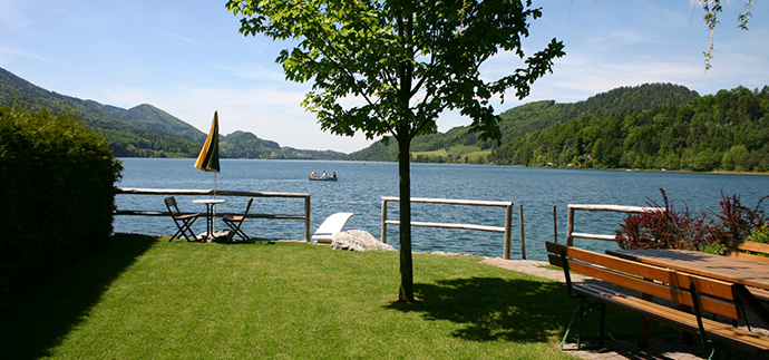 Pension in Fuschl: Haus am See